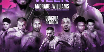 Andrade vs Williams Matchroom Boxing