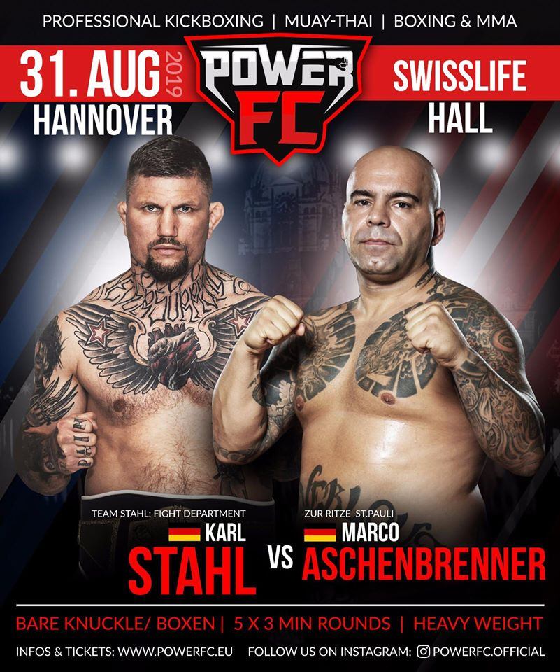 Power FC - Stahl vs Aschenbrenner