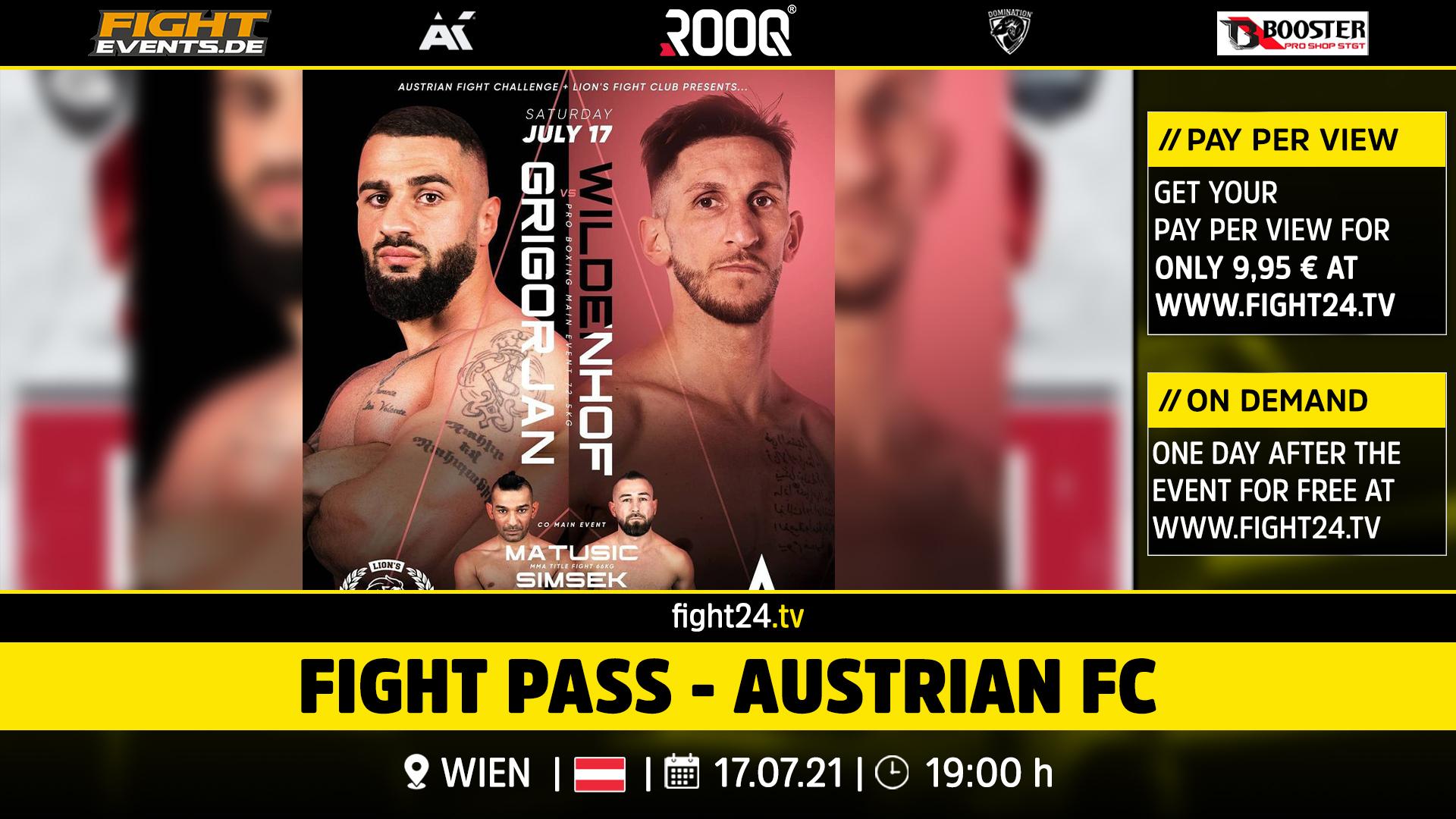 Austrian FC 2021 - Livestream