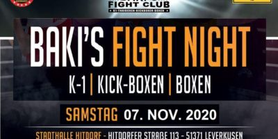 Bakis Fight Night