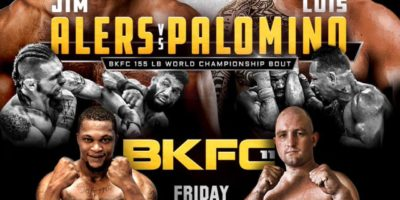 Bare Knuckle FC - Alers vs Palomino