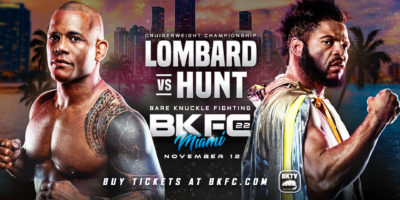 BKFC 22 - Lombard vs Hunt