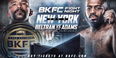Bare Knuckle FC - Fight Night New York