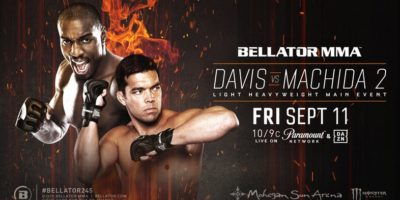 Davis vs Machida 2