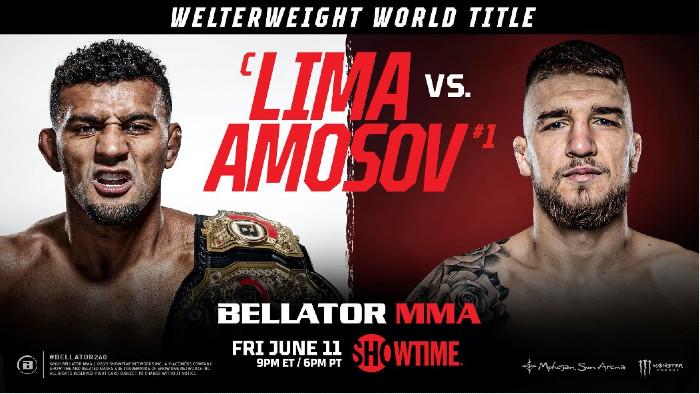Lima vs Amosov - Bellator 260