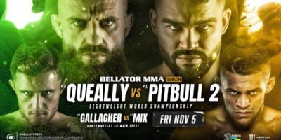 Queally vs Pitbull 2