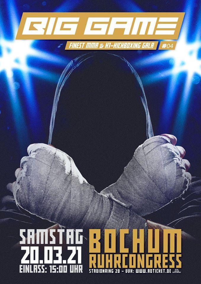BIG GAME 4 Finest Mixed Martial Arts & K1- Kickboxing Gala