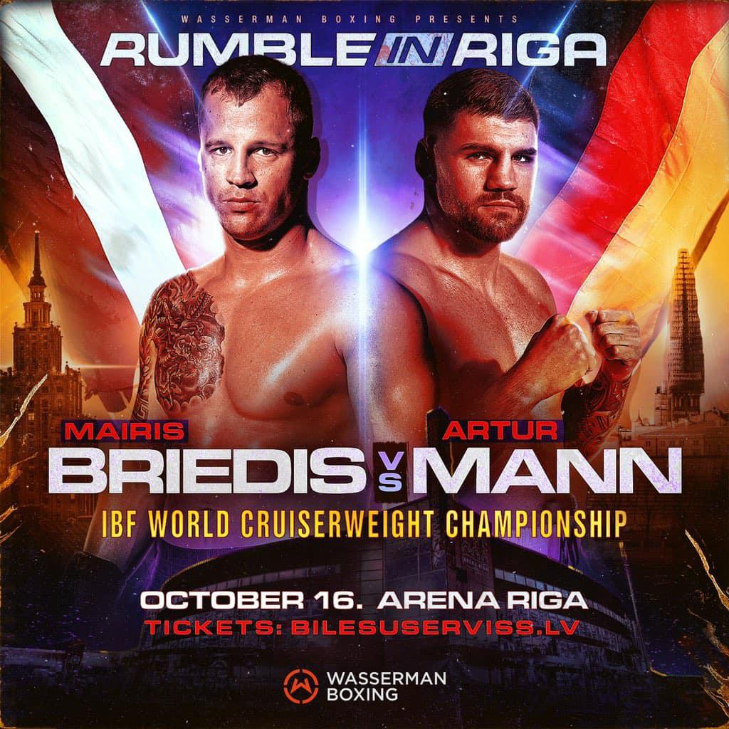 Briedis vs Mann