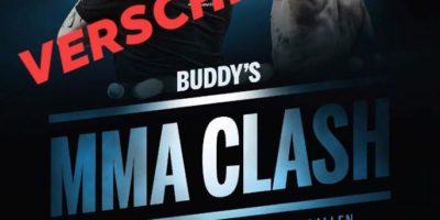 Buddy MMA Clash 3 verschoben