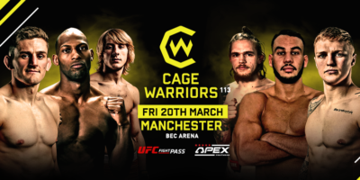 Cage Warriors 113 Manchester