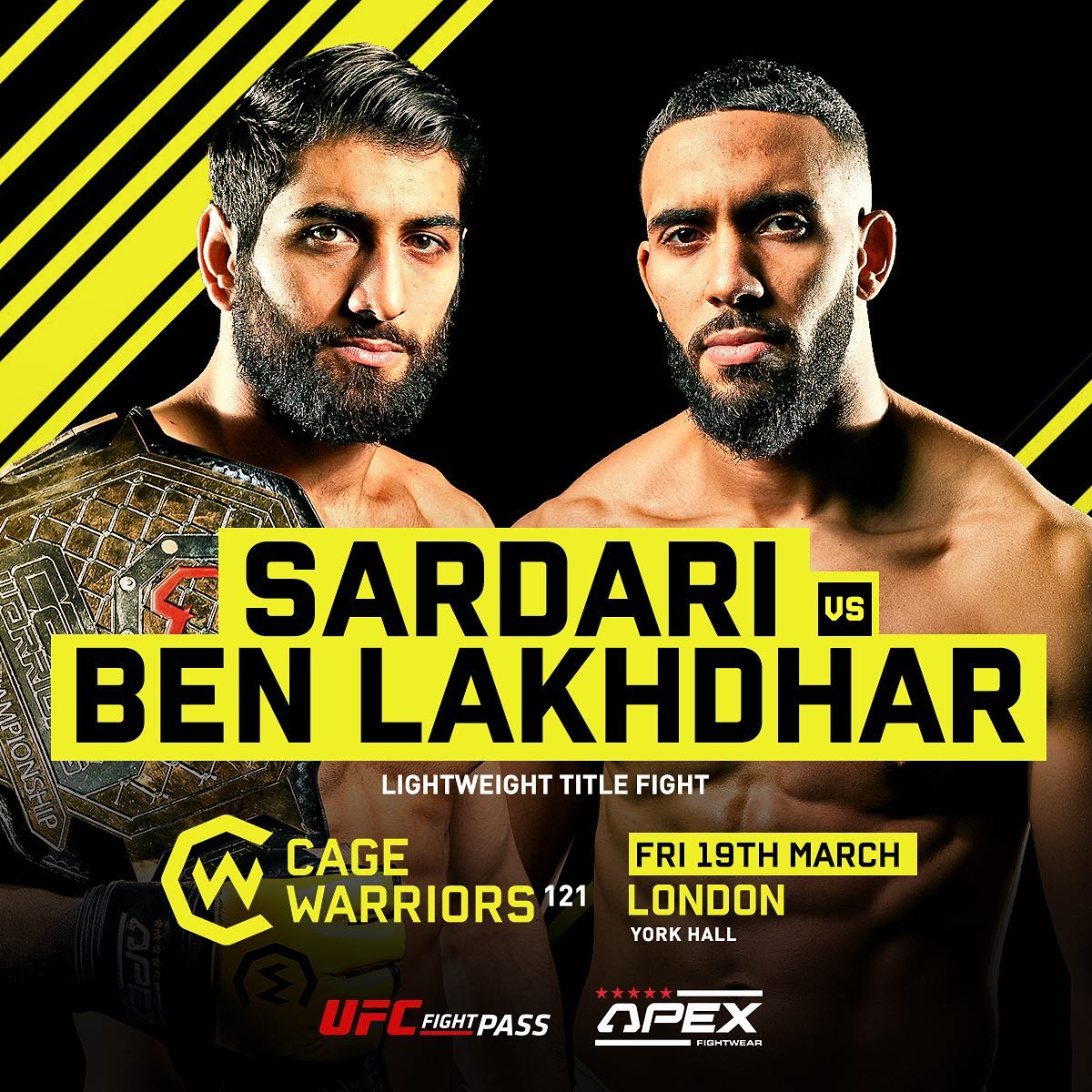 Cage Warriors 121 - The Trilogy