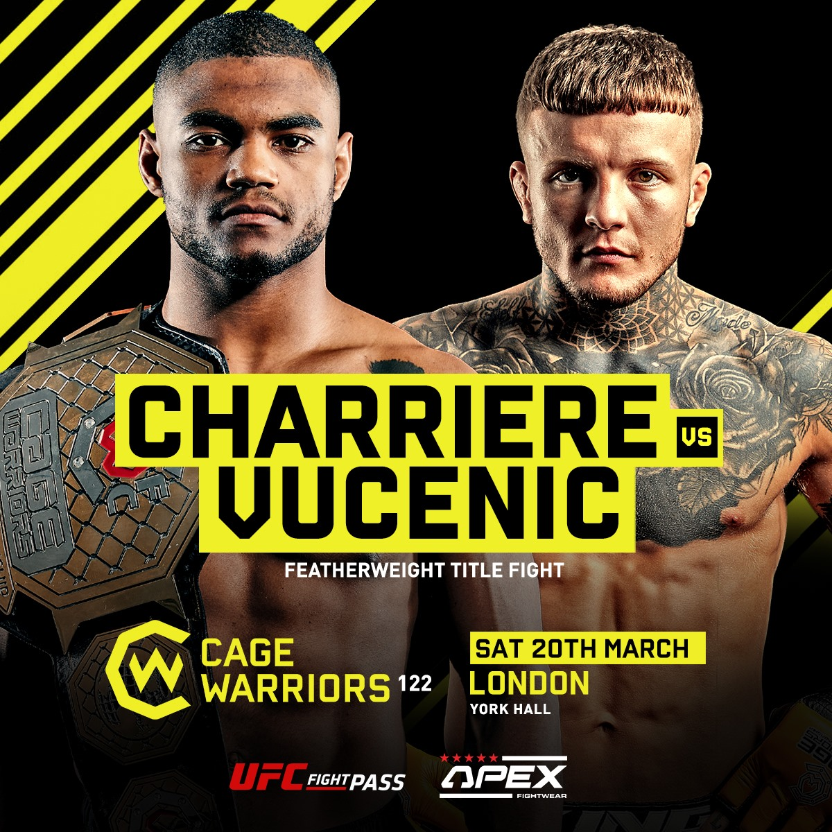 Cage Warriors 122 - The Trilogy