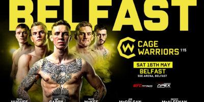 Cage Warriors 115 Belfast