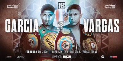 Carcia vs Vargas - Matchroom Boxing