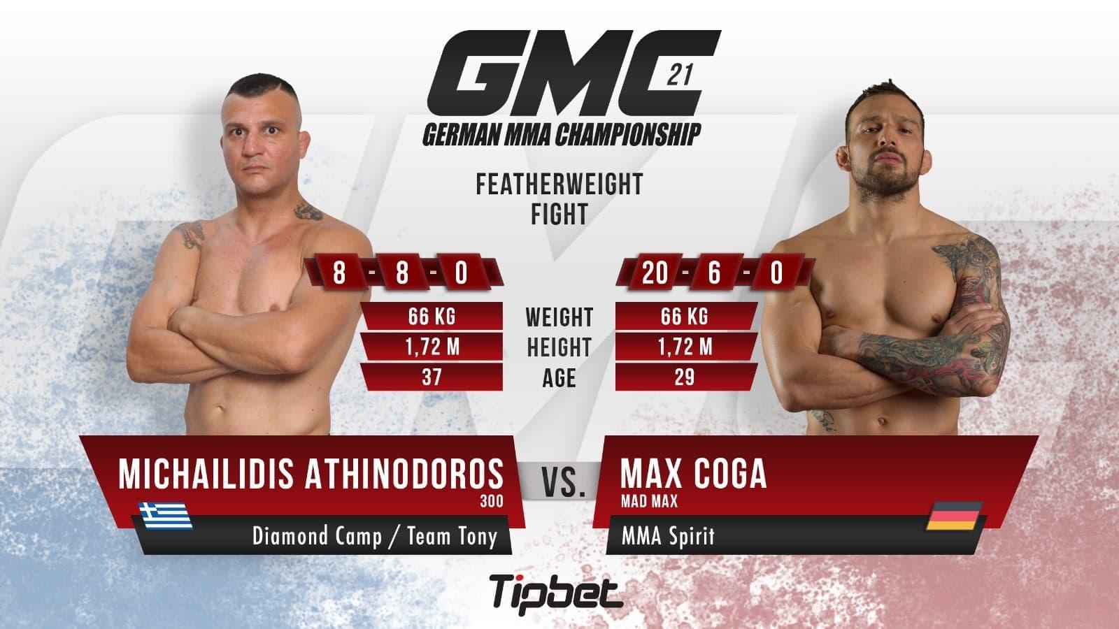 GMC Coga vs Athinodoros