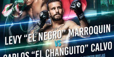 Combate Global - Marroquin vs Calvo