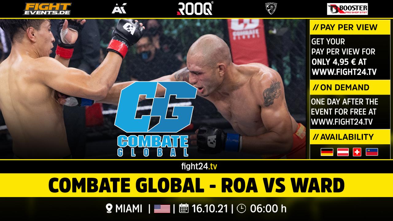Combate Global - Roa vs Ward