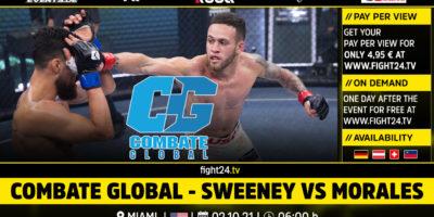 Combate Global - Sweeney vs Morales