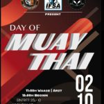 Day of Muay Thai Poster