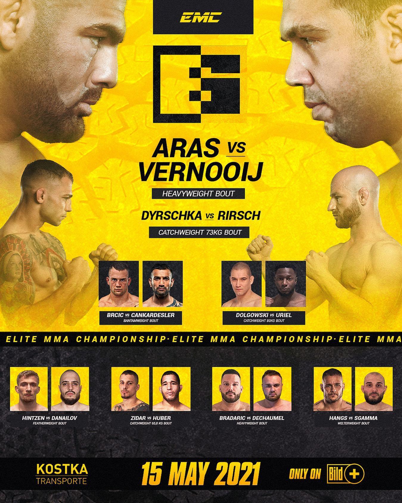 EMC 6 - Elite MMA Championship 6 - EMC6