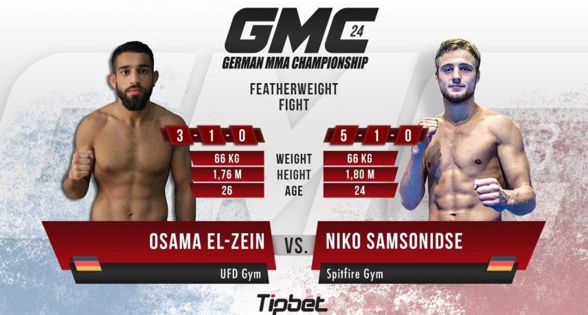 GMC 24 München - El-Zein vs Samsonidse