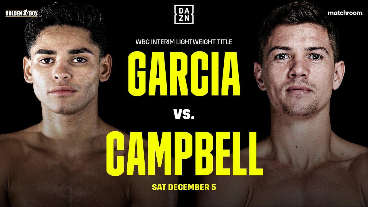 Garcia vs Campbell - DAZN