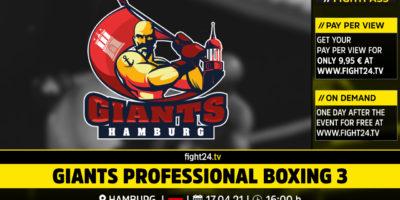 Giants Professional Boxing