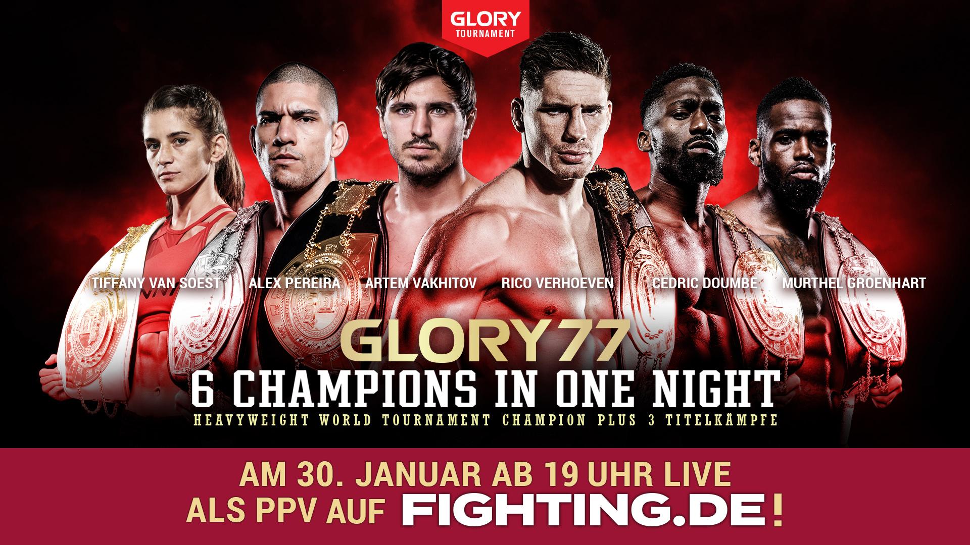 Glory 77 - fighting