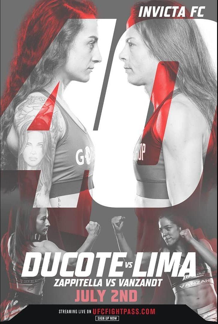 Invicta FC 40 - Ducote vs Lima