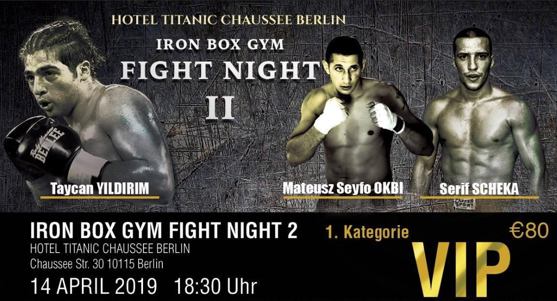 Iron Box Gym Fight Night 2