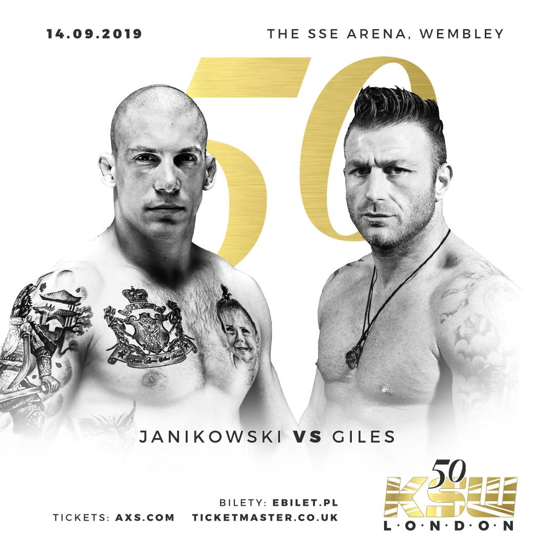 KSW 50 Janikoski vs Giles
