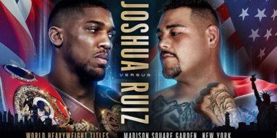 DAZN Boxing - Joshua vs Ruiz Jr.