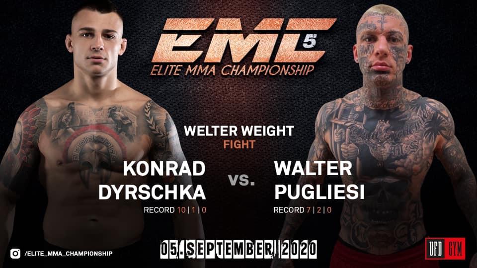 Konrad Dyrschka vs Walter Pugliesi