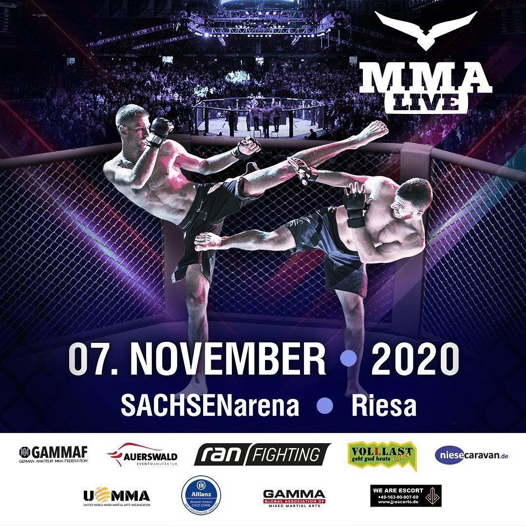MMA Live 8 - Riesa
