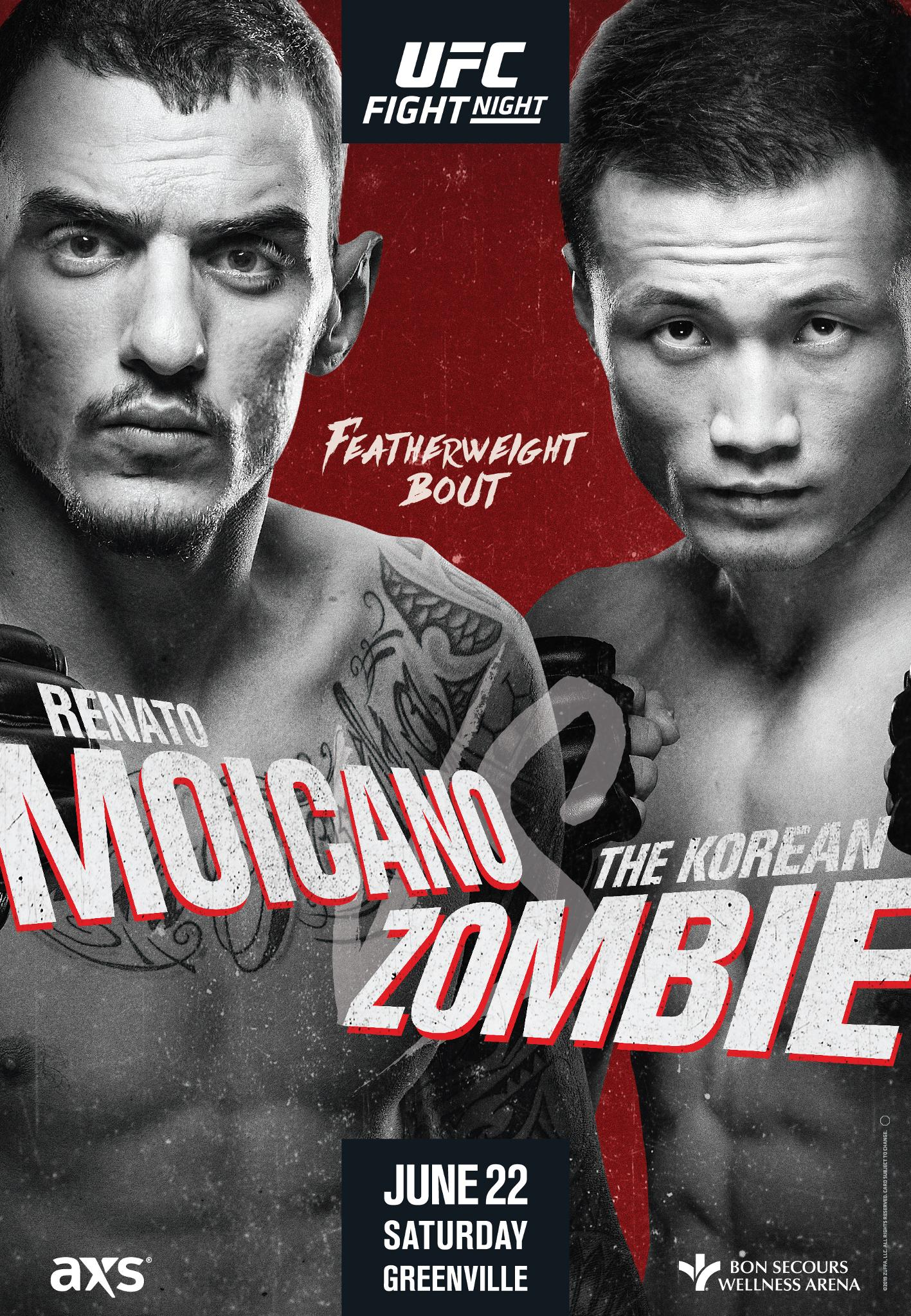 Moicano vs Korean Zombie