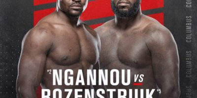 UFC on ESPN - Ngannou vs Rozenstruik