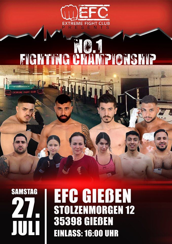 No1 Fighting Championship 3 - Gießener EFC Fight Night