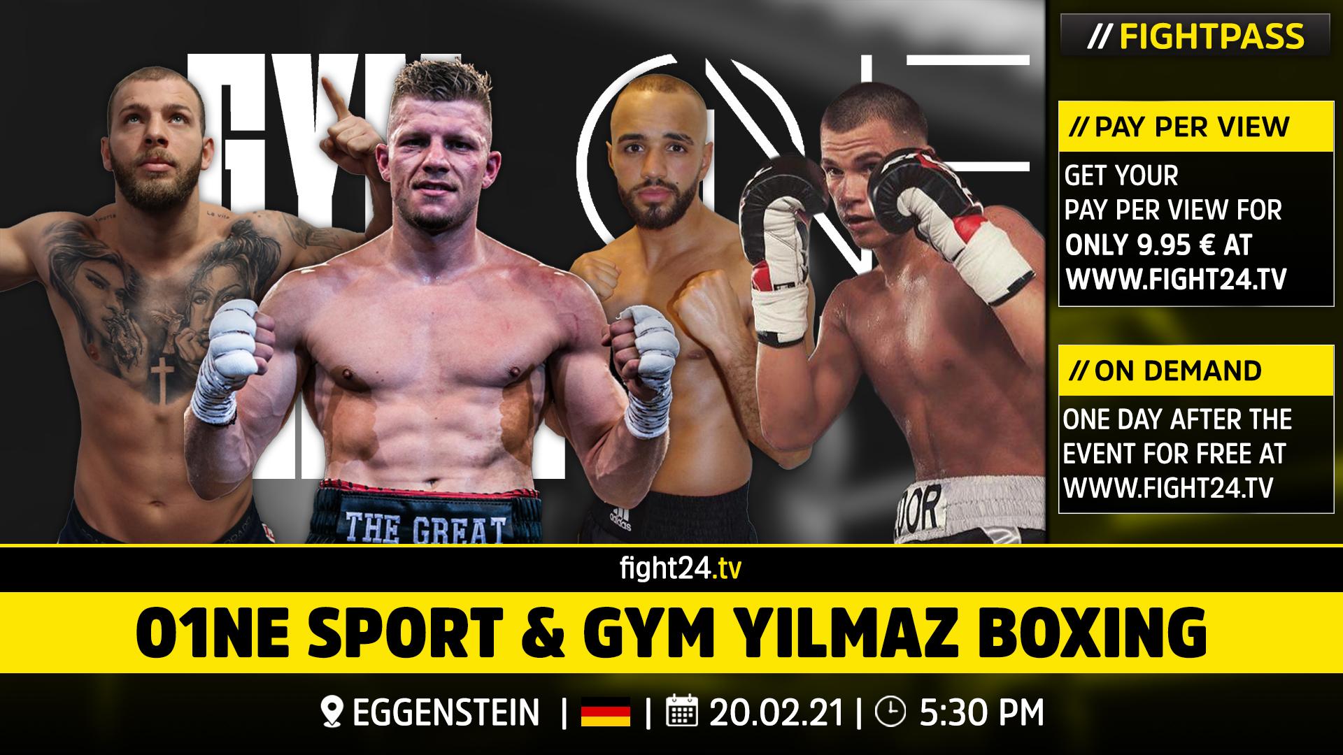 O1NE Sport & Gym Yilmaz Boxing