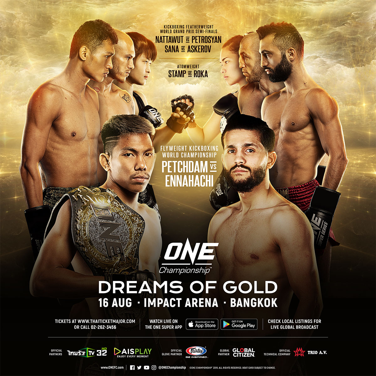 ONE Championship – Dreams of Gold