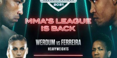 PFL 3 - Werdum vs Ferreira