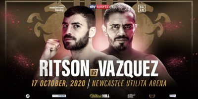 Matchroom Ritson vs Vazquez