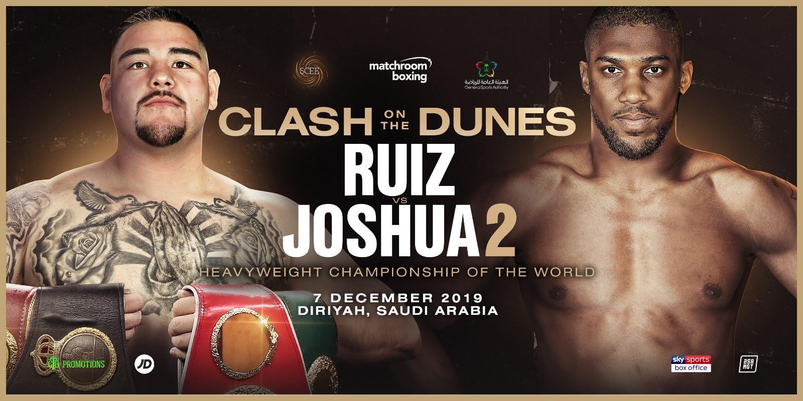 Ruiz vs Joshua 2 DAZN