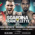 Daniele Scardina vs Andrew Francillette