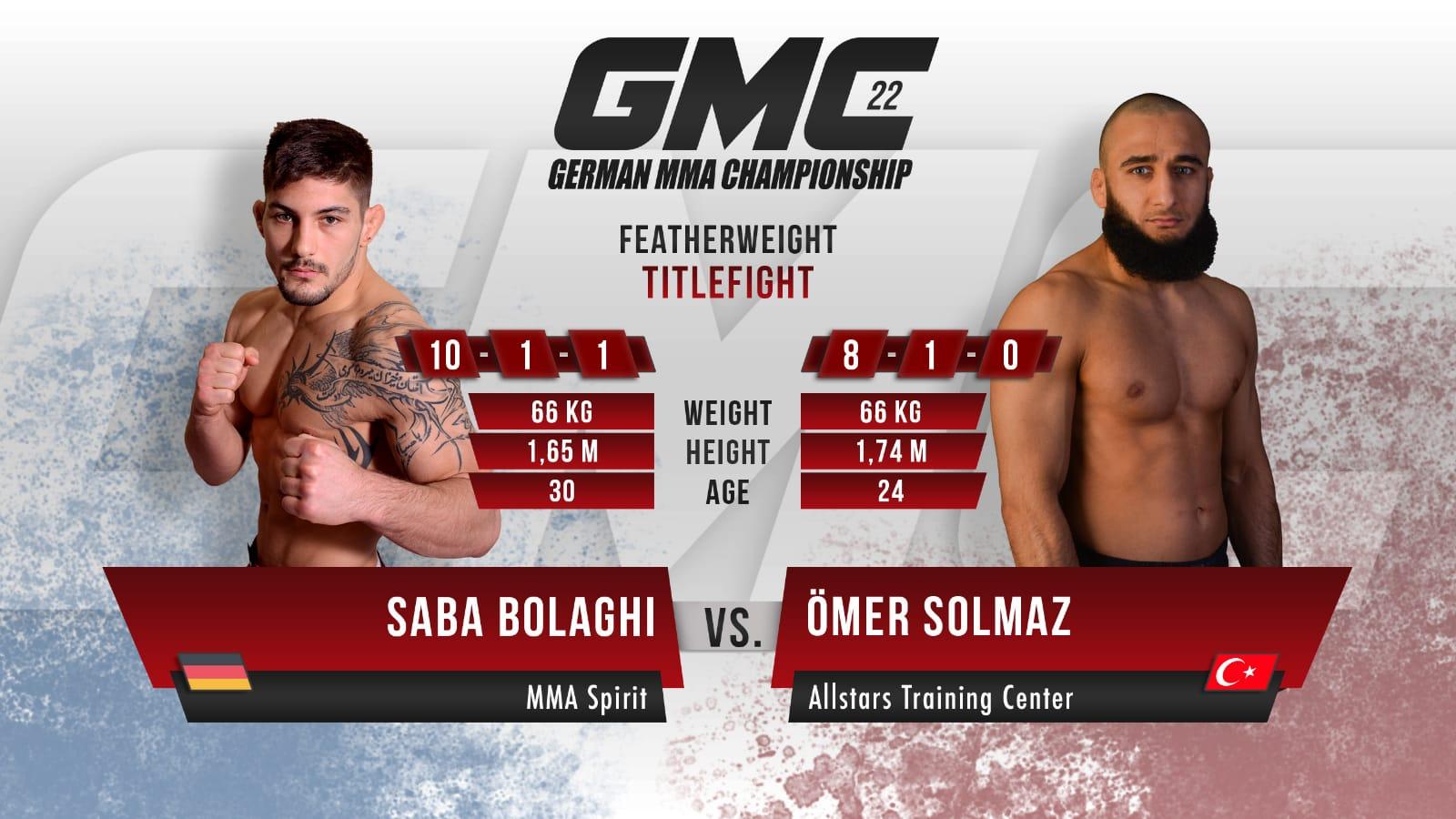 GMC 22 Solmaz vs Bolaghi