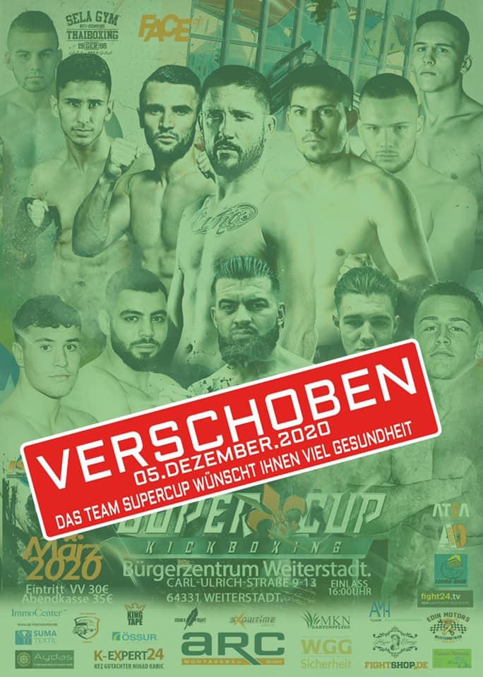 Super Cup Kickboxing 2020 verschoben