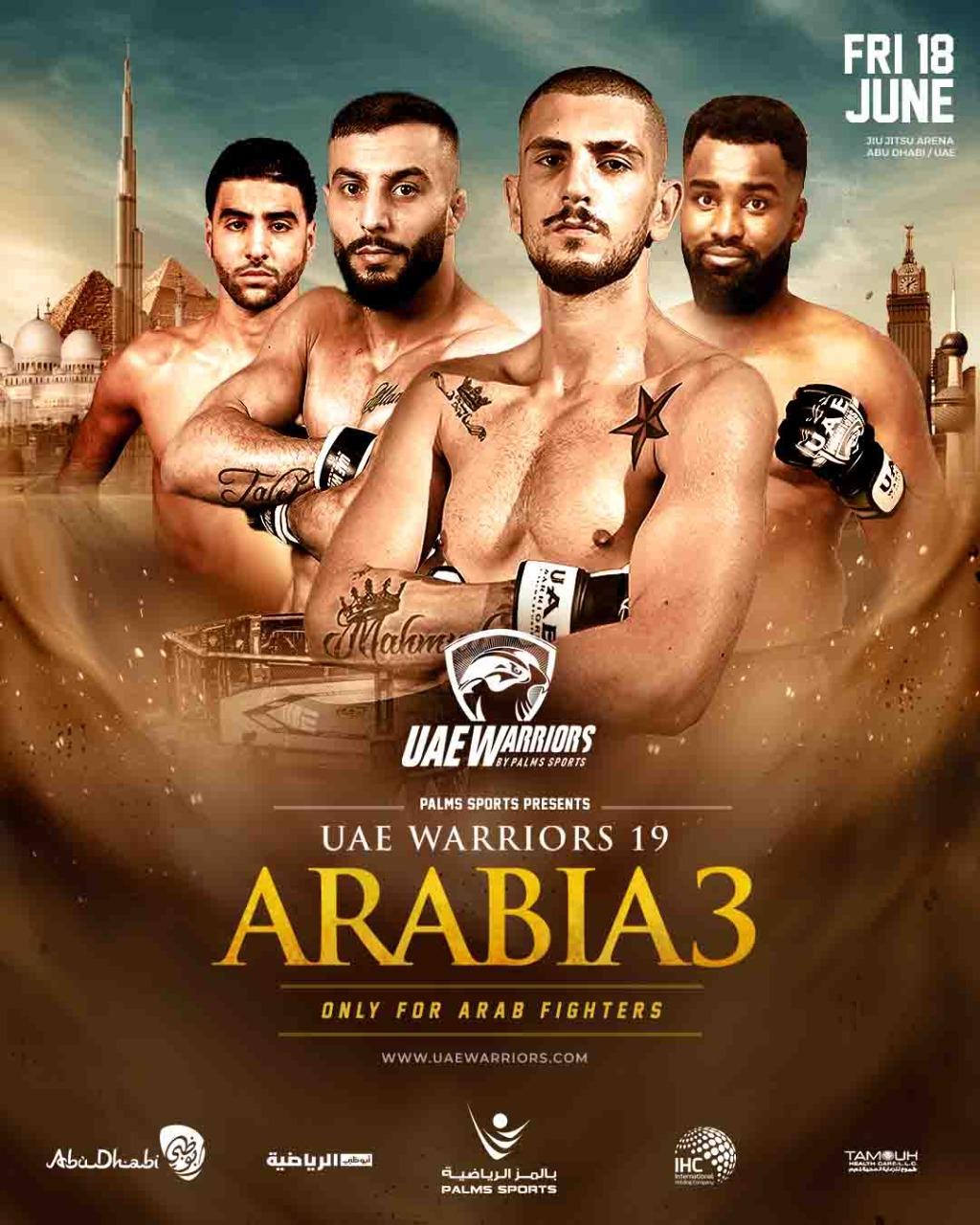 UAE Warriors 19