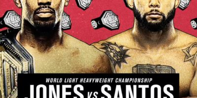 UFC 239 - Jon Jones vs Thiago Santos