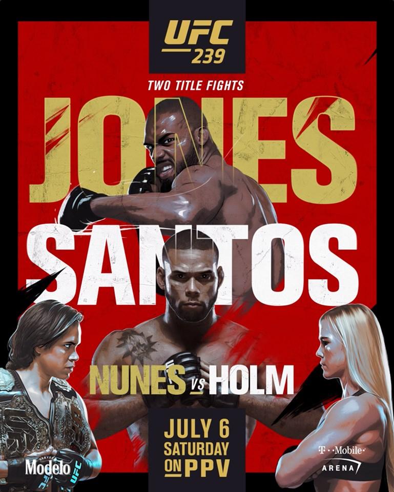 UFC 239 Jones vs Santos