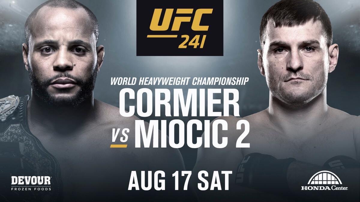 UFC 241 - Cormier vs Miocic 2