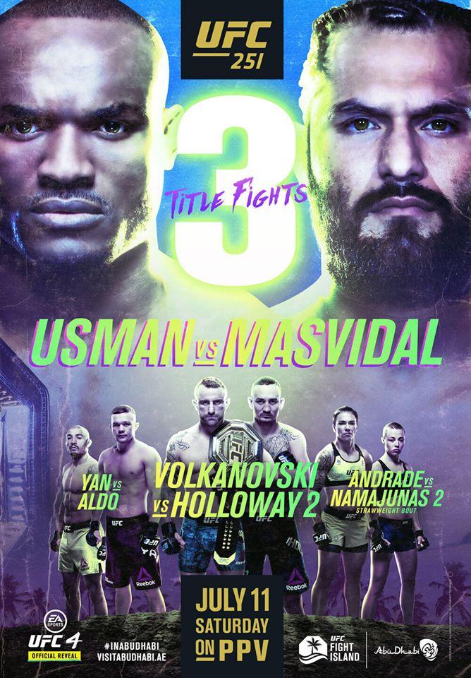 Usmann vs Masvidal